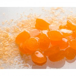 saure Orange-Bonbons