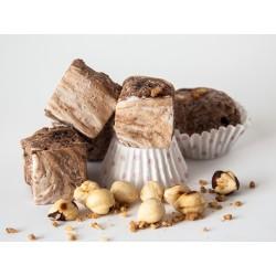 handgemachte Haselnuss-Marshmallows