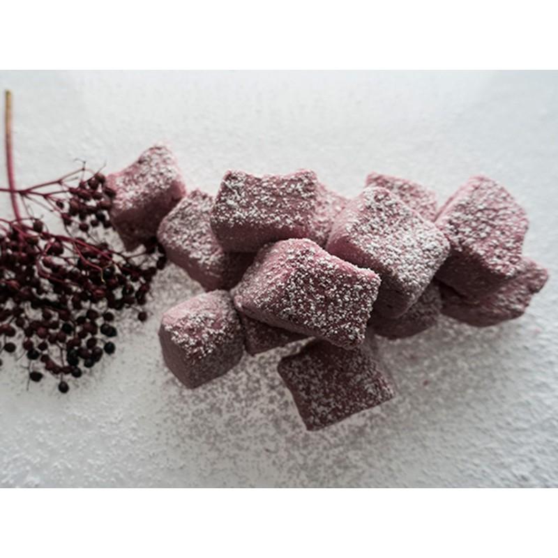 handgemachte Holunder-Marshmallows