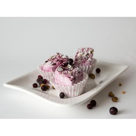 Heidelbeer-Marshmallows
